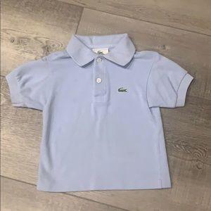 2T boys Lacoste polo shirt